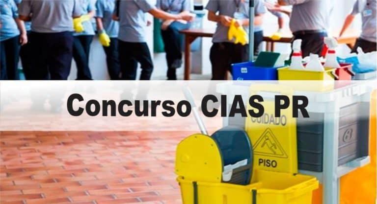 Concurso CIAS PR: Inscrições abertas com vagas para nível Médio e Superior