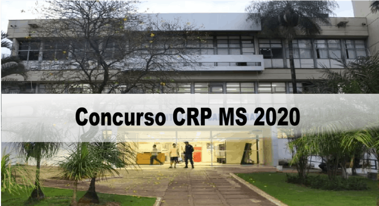 Concurso CRP MS 2020: Provas Marcadas pro dia 07/03/2021 !