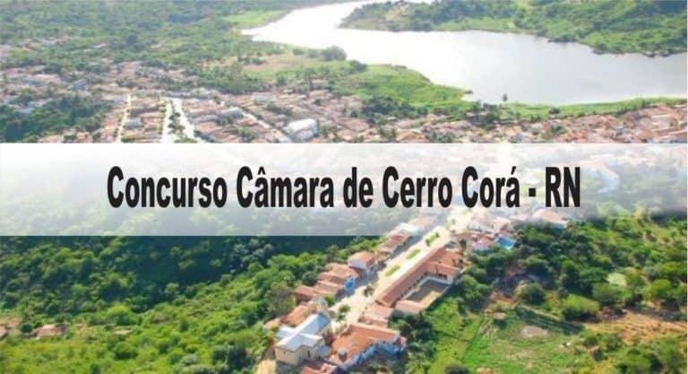 Concurso Câmara de Cerro Corá – RN
