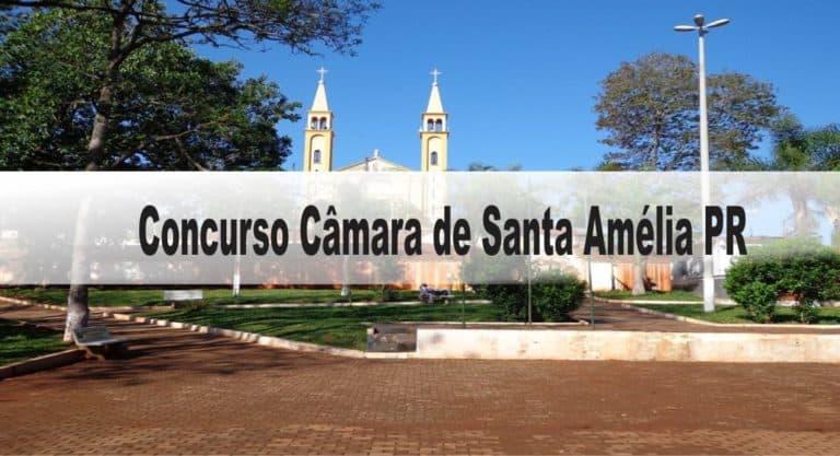 Concurso Câmara de Santa Amélia PR