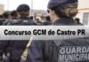 Concurso GCM de Castro PR