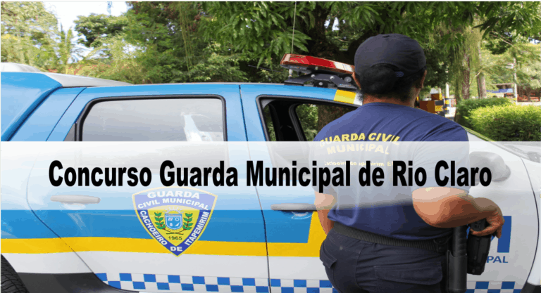 Concurso Guarda Municipal de Rio Claro SP: Adiamento temporário da primeira fase
