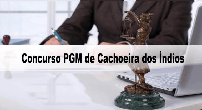 Concurso PGM de Cachoeira dos Índios PB: Inscrições abertas para Procurador!