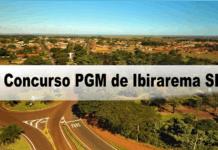 Concurso PGM de Ibirarema SP