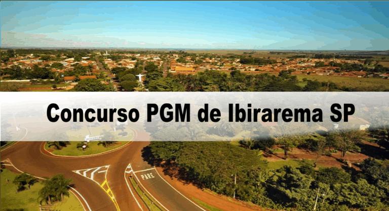 Concurso PGM de Ibirarema SP: Edital revogado