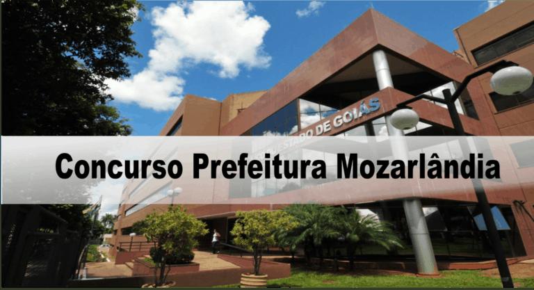 Concurso Prefeitura Mozarlândia (GO) 2020: Certame suspenso