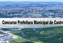 Concurso Prefeitura Municipal de Castro PR