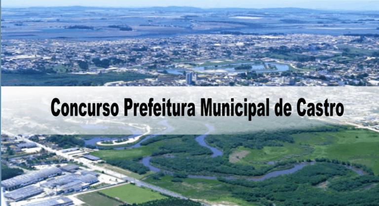 Concurso Prefeitura Municipal de Castro PR: Suspenso!