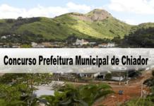 Concurso Prefeitura Municipal de Chiador-MG