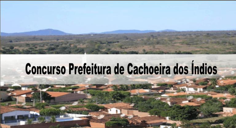Concurso Prefeitura de Cachoeira dos Índios PB: Provas dia 01/11