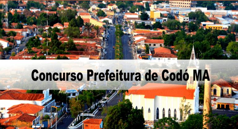 Concurso Prefeitura de Codó MA: Inscrições encerradas. Provas adiadas