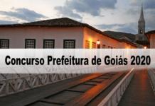 Concurso Prefeitura de Goiás 2020