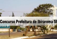 Concurso Prefeitura de Ibirarema SP