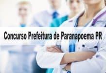 Concurso Prefeitura de Paranapoema PR
