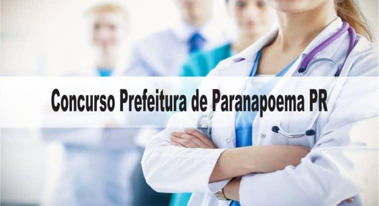 Concurso Prefeitura de Paranapoema PR: Inscrições encerradas