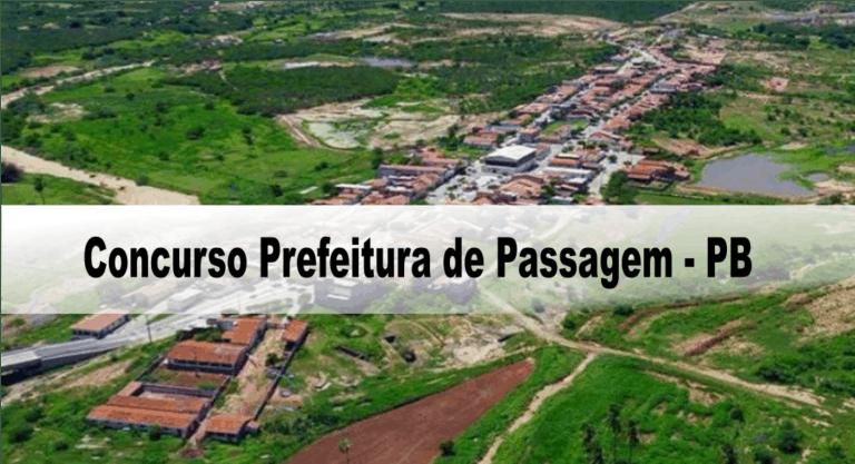 Concurso Prefeitura de Passagem – PB