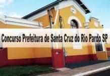 Concurso Prefeitura de Santa Cruz do Rio Pardo SP