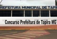 Concurso Prefeitura de Tapira MG