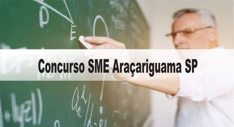 Concurso SME Araçariguama: Provas suspensas
