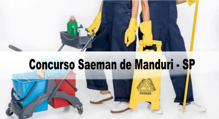 Concurso Saeman de Manduri – SP