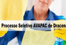 Processo Seletivo AVAPAC de Dracena - SP