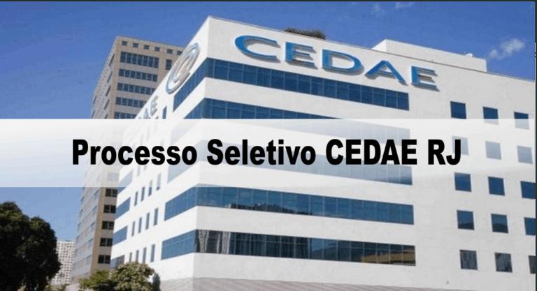 Processo Seletivo CEDAE RJ 2020: Inscrições encerradas