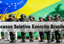 Processo Seletivo Exército Brasileiro