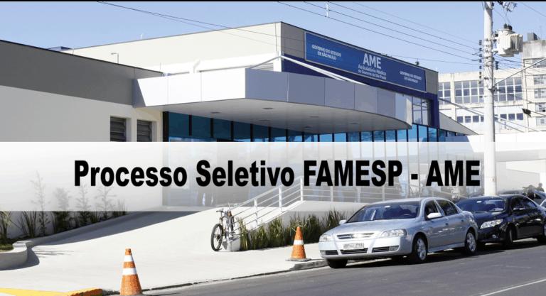 Processo Seletivo FAMESP – AME BAURU 2020: Inscrições encerradas!