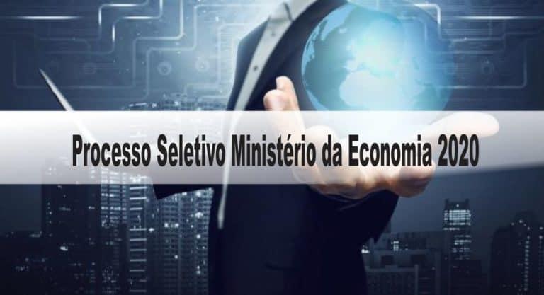 Processo Seletivo Ministério da Economia 2020