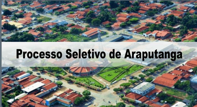 Processo Seletivo Prefeitura de Araputanga – MT