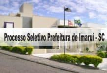 Processo Seletivo Prefeitura de Imaruí - SC
