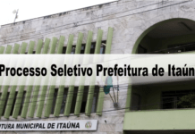 Processo Seletivo Prefeitura de Itaúna (MG)