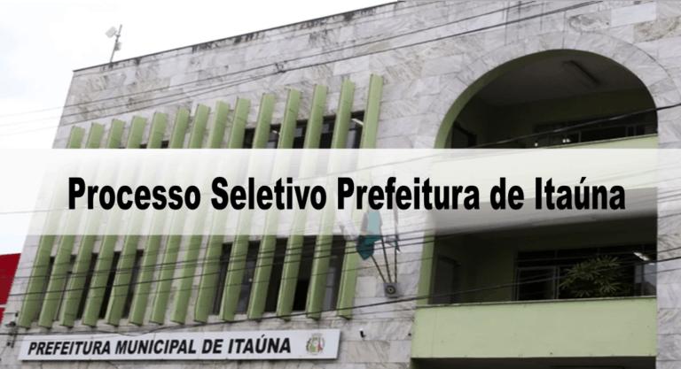 Processo Seletivo Prefeitura de Itaúna (MG): Suspenso