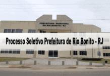 Processo Seletivo Prefeitura de Rio Bonito - RJ