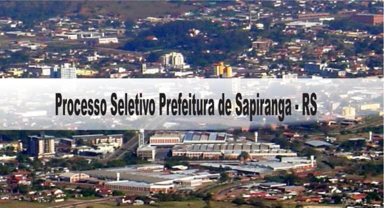 Processo Seletivo Prefeitura de Sapiranga – RS: Inscrições encerradas