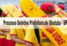 Processo Seletivo Prefeitura de Ubatuba - SP