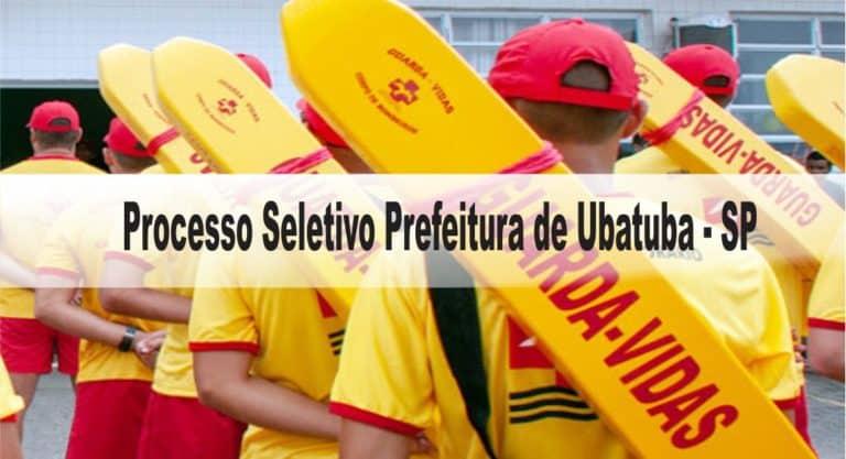 Processo Seletivo Prefeitura de Ubatuba – SP: Inscrições abertas!