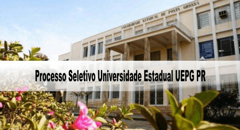 Processo Seletivo Universidade Estadual UEPG PR: Inscrições encerradas