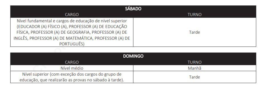 provas.02 - Concurso Prefeitura de Delmiro Gouveia AL: Provas dias 03 e 04 de Outubro!