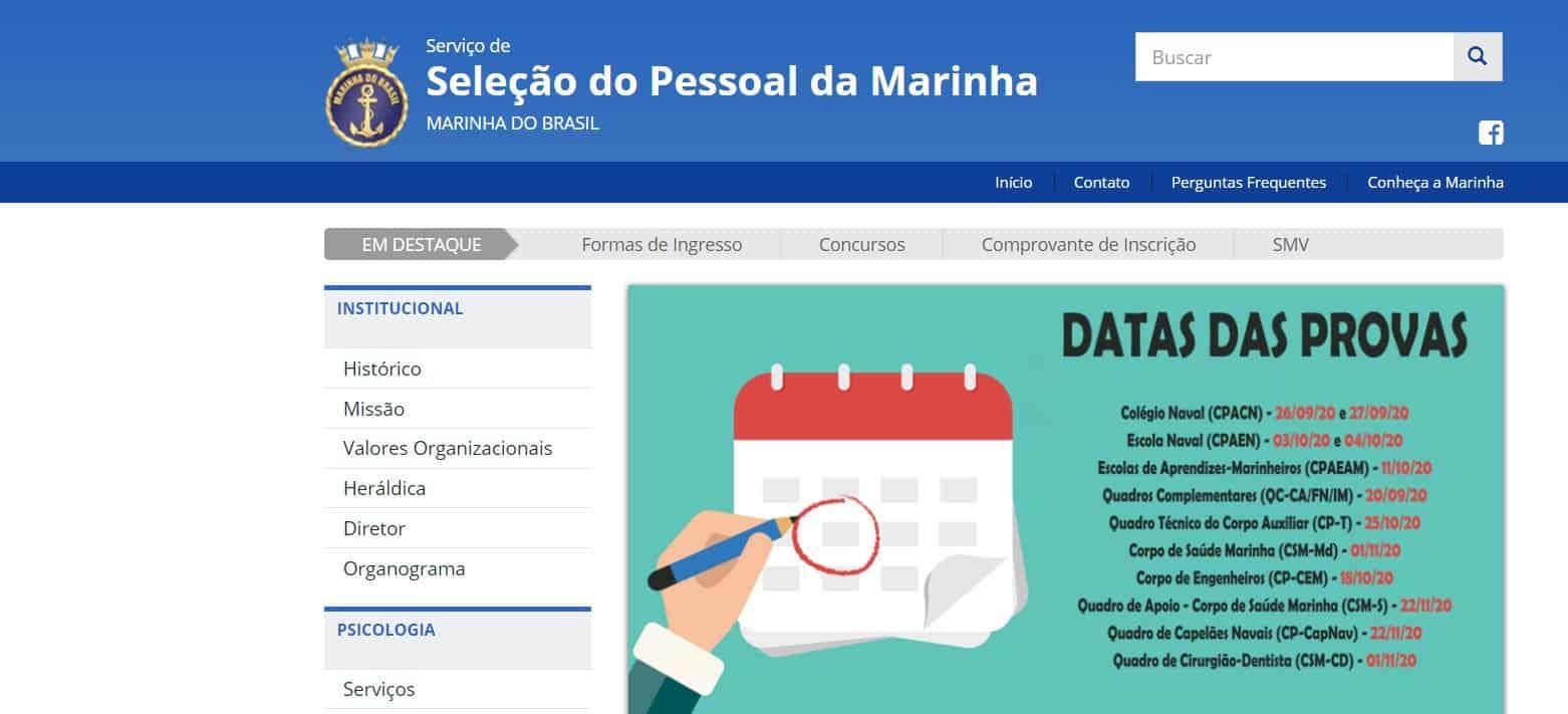 provas.marinha - Concurso Marinha do Brasil 126 VAGAS: Provas em Setembro!