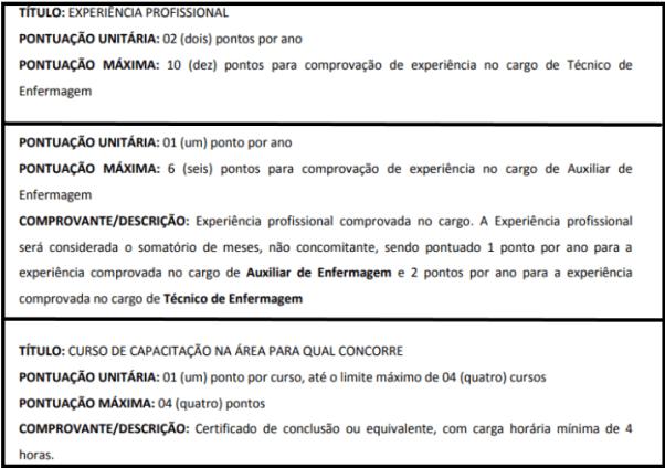 Avaliacao de titulos 1 19 - Processo Seletivo SES SP: Inscrições encerradas