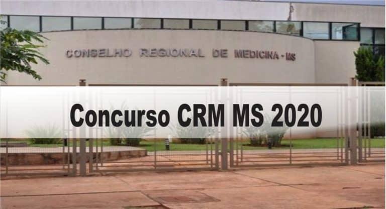 Concurso CRM MS 2020: Inscrições encerradas