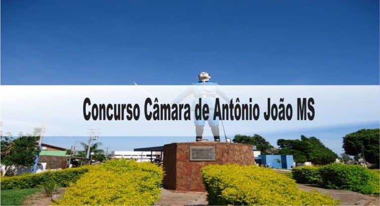 Concurso Câmara de Antônio João MS