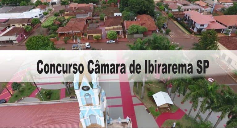 Concurso Câmara de Ibirarema SP: Inscrições abertas com 2 vagas