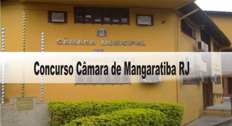 Concurso Câmara de Mangaratiba RJ: Inscrições abertas