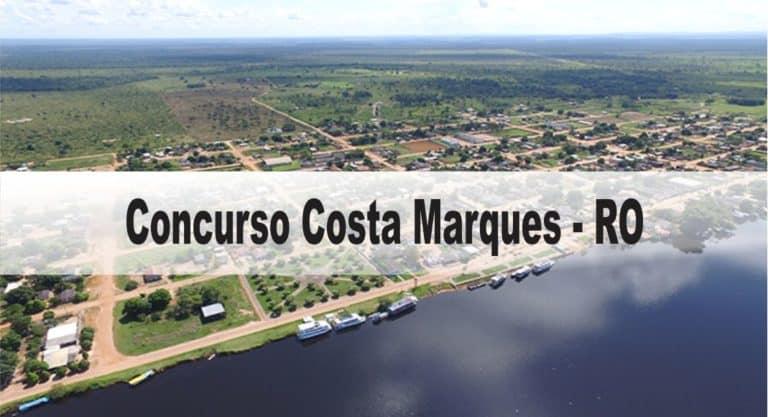 Concurso Prefeitura Costa Marques – RO: Inscrições encerradas