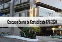 Concurso Exame de Contabilidade CFC 2020