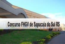 Concurso Fundação Hospitalar Getúlio Vargas Sapucaia do Sul RS
