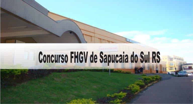 Concurso Fundação Hospitalar Getúlio Vargas Sapucaia do Sul RS: Inscrições abertas com 2 vagas para todos os níveis