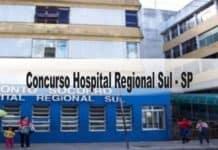 Concurso Hospital Regional Sul-SP
